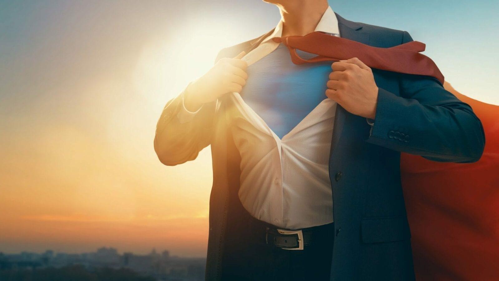 Is your website button Superman or Clark Kent?